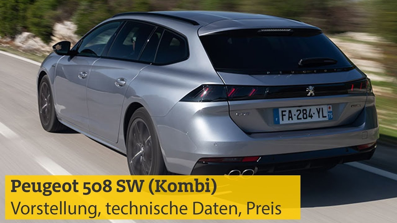Peugeot 508 SW (Kombi): Vorstellung, technische Daten ...