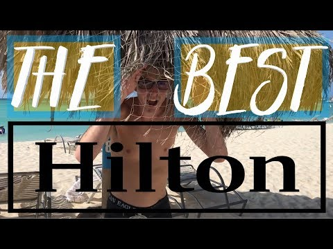 ARUBA THE PARADISE? | Hilton: Pool, Beach, Iguanas | A&J Travel Blog