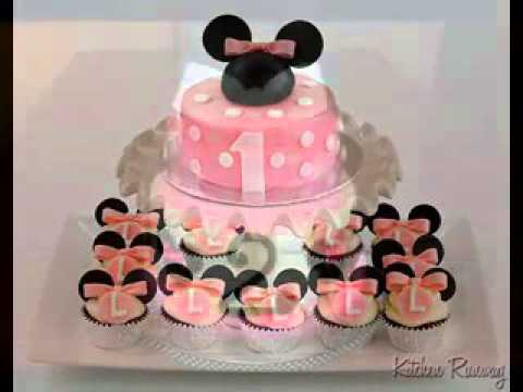 Kreative Minnie Maus Geburtstag Kuchen Design Deko Ideen Youtube