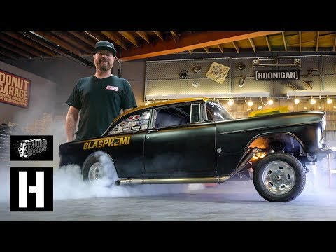Roadkill's Mike Finnegan Brings Blasphemi to the Donut Garage, Flexes 900whp With a Massive Burnout
