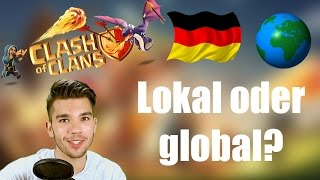 CLASH OF CLANS Deutsch: Lokal oder Global? ✭ Let's Play Clash of Clans