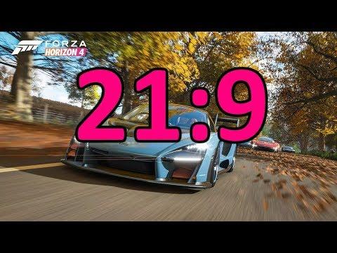 Forza Horizon 4 21:9 Ultra-wide 60 FPS Full Demo Gameplay
