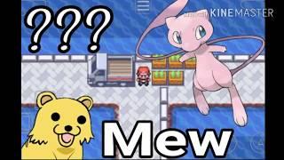 Pokémon fire red - easter egg do caminhão com Mew na cidade de vermilio???