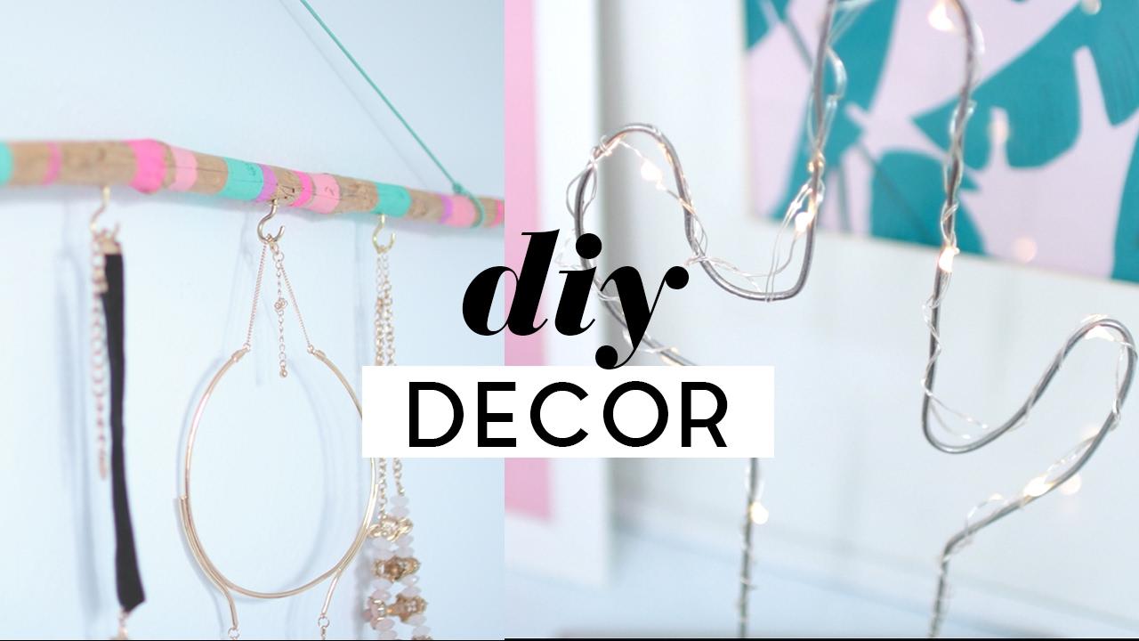 Diy Room Decor Budget Home Decor Ideas 2017 Youtube