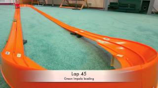 1970 Hot Wheels Dual-Lane Rod Runner Race Set - Oval layout | Smackeral Cafe