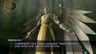Shin Megami Tensei Digital Devil Saga 1 Boss Metatron
