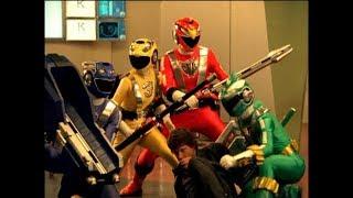 Power Rangers RPM - Handshake - Power Rangers vs Tenaya
