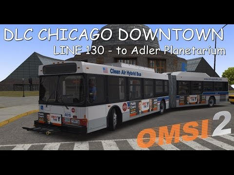 OMSI 2 - Linha 130  Centro a Adler Planetarium - DLC Chicago Downtown