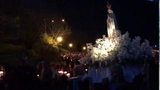 Processó  de Fàtima al Santuari de Meritxell