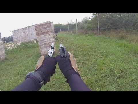 (Airsoft game) 24/04/14 part 1 : the fort