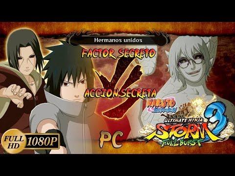 Naruto Shippuden: Ultimate Ninja Storm 3 Full Burst DLC Sasuke & Itachi ...