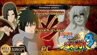 naruto shippuden ultimate ninja storm 3 full burst dlc sasuke itachi vs sage mode kabuto   pc