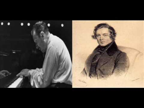 Claudio Arrau Schumann Waldszenen 3 Einsame Blumen Op. 82