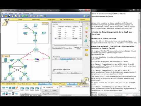 5126 Packet Tracer Investigating Nat Operation