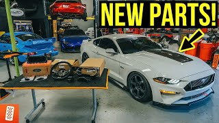 Building and Heavily Modifying a 2020 Ford Mustang GT: Part 8: Transforming the Interior!