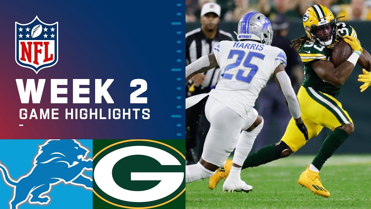 Download Detroit Lions vs. Green Bay Packers Week 2 | 2021 NFL GameHighlights