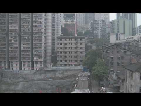 Cable Car Ride in Chongqing Part 4 - Yangtze River