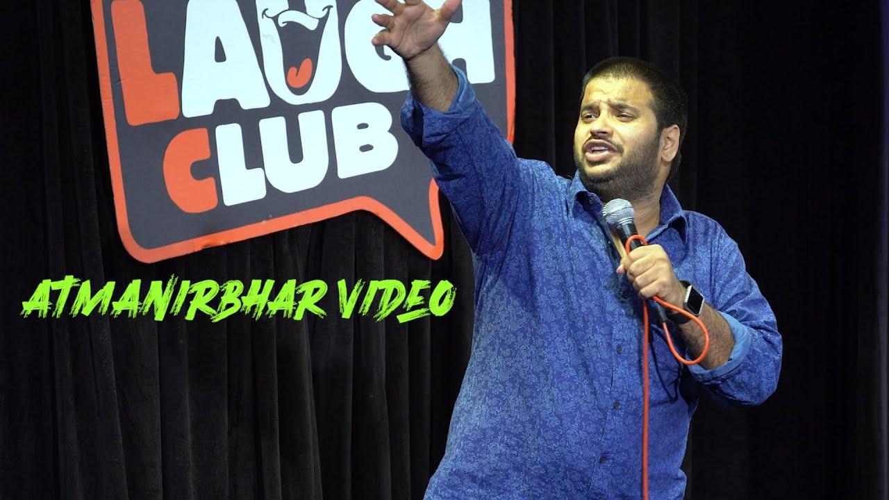 Aatmanirbhar Video-Sundeep Sharma Stand-up Comedy