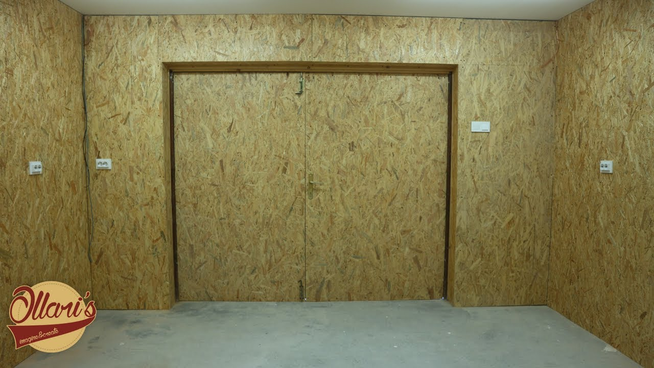 Insulating A Garage Adding Outlets And Installing Osb