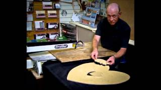 Dave Evans - Scroll Saw Cutting In Advance Of Guinness World Record Attempt!