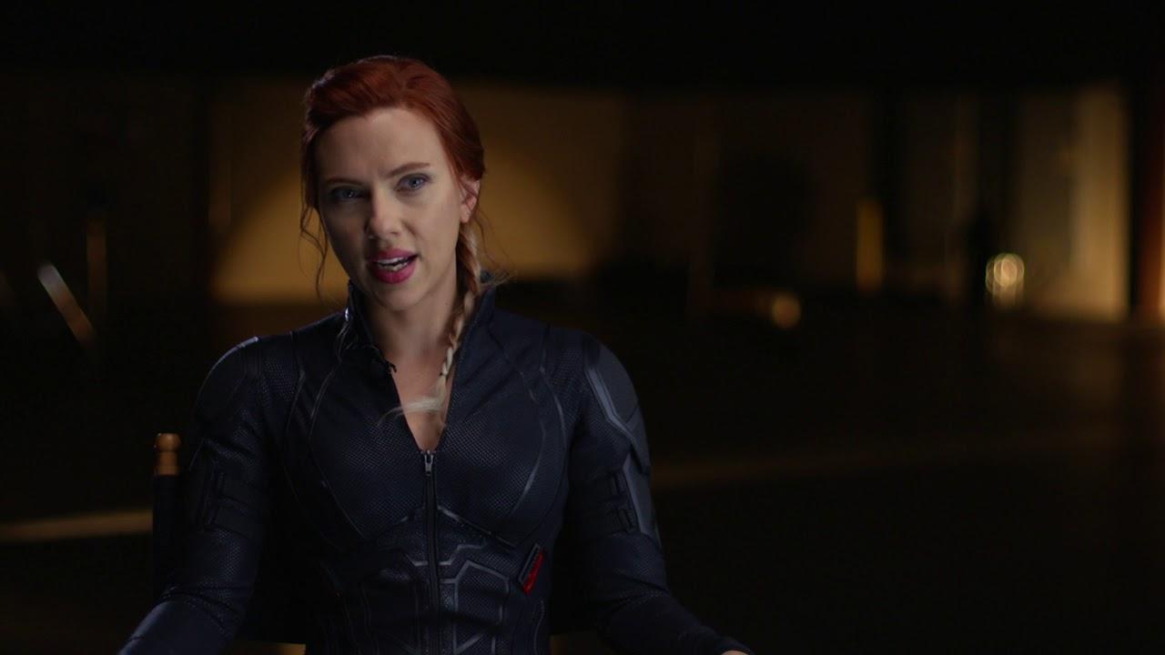 Scarlett Johansson Avengers Endgame Black Widow Youtube