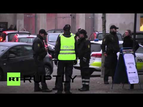 Denmark: Police launch manhunt for Copenhagen cafe shooter