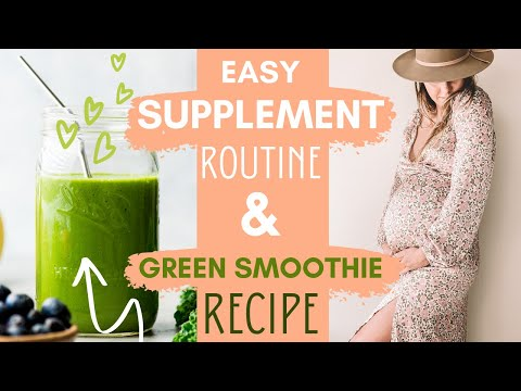 easy-&-realistic-supplement-routine-+-fav-green-superfood-smoothie-recipe!