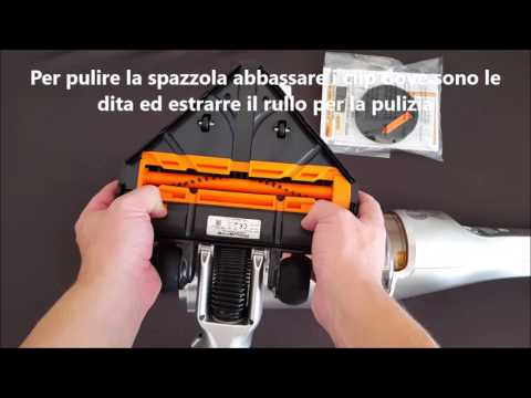 Scopa Elettrica A Batteria Rowenta.Rowenta Air Force Extreme Modello Rh8828 Scopa Elettrica A