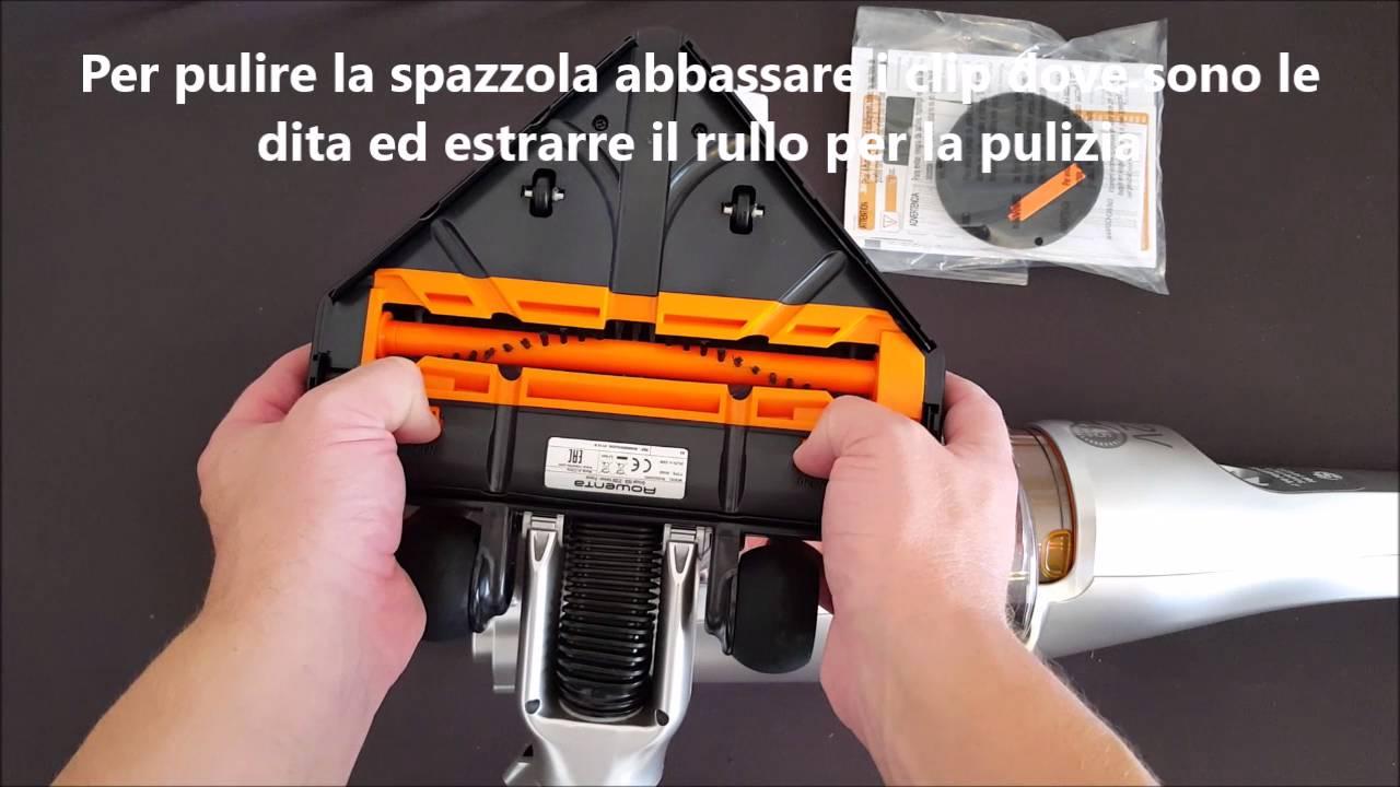 Scopa Elettrica A Batteria Rowenta.Rowenta Air Force Extreme Modello Rh8828 Scopa Elettrica A Batteria