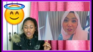 FALLING IN LOVE WITH YOU | SHILA AMZAH | LYRICS VIDEO| Reaction