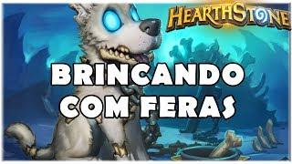 HEARTHSTONE - BRINCANDO COM FERAS! (STANDARD RECRUIT HUNTER)