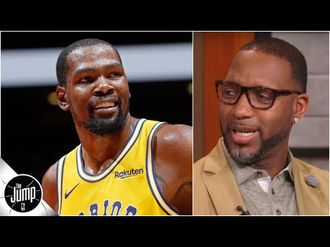 No way all four top Warriors deserve statues right now - Tracy McGrady | The Jump