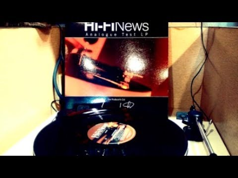 Hi-Fi News Analogue Test LP the producer's cut: SIDE 1