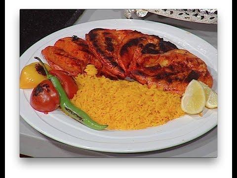 طريقه عمل دجاج هندى وتيكاماسالا وبتر تشيكن وتندورى من ساره عبد السلام سنه اولى طبخ