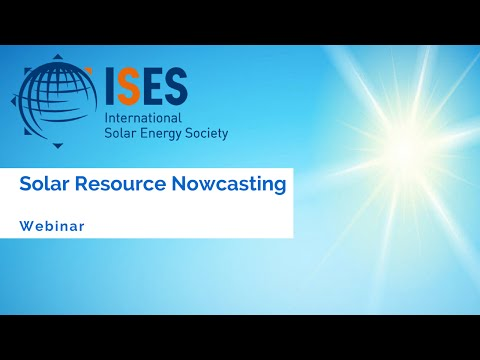 Webinar: Solar Resource Nowcasting