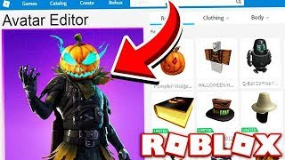ROBLOX MAKING FORTNITE HALLOWHEAD AN ACCOUNT!