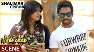 Gangs Of Hyderabad Movie || Farukh Funny Fight Scene For Kavya Reddy || Sajid Khan, Ismail Bhai
