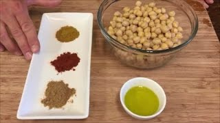 Indian Spiced Roasted Chickpeas: Ck Rapid Fire Recipe