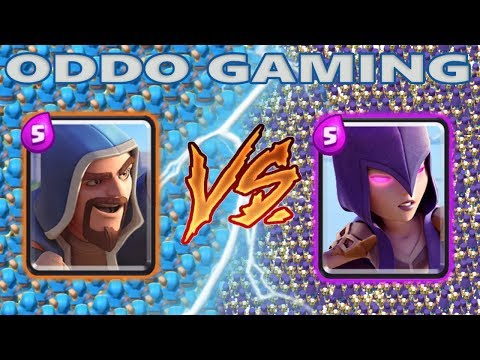 WIZARD VS WITCH - CLASH ROYALE BATTLE #6