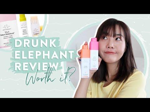 Drunk Elephant Skincare Review + K-Beauty Dupes! 🐘