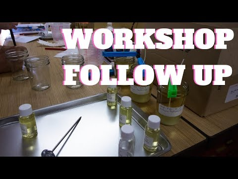 Candle Workshop And Master Class Follow Up And Details