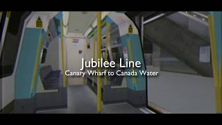 Jubilee Line Canary Wharf to Canada Water