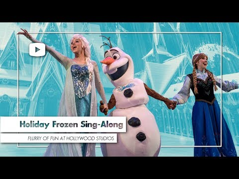 Frozen Sing-Along Celebration FULL SHOW | NEW Olaf's Frozen Adventure Songs - Walt Disney World