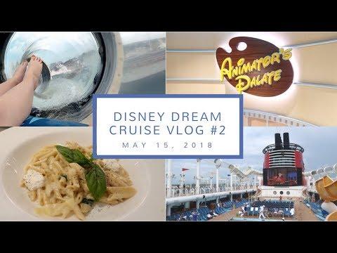 Disney Cruise Vlog Day 2   Beauty & The Beast, Animator's Palate, + the Aquaduck    May 15, 2018