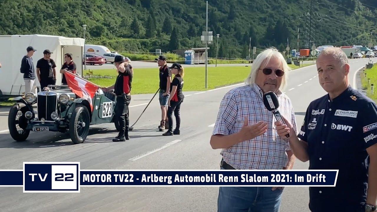 MOTOR TV22: Arlberg Automobil Renn Slalom 2021