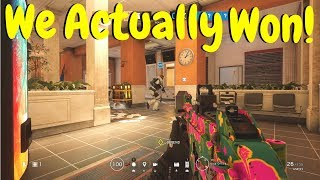 Defending Bad Objectives in Rainbow Six Siege