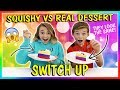 Download SQUISHY VS REAL DESSERT CHALLENGE | We Are The Davises