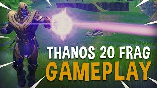 Thanos 20 Frag Gameplay - Fortnite Battle Royale - Ninja