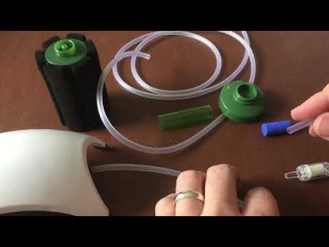 How To Set Up An Air Pump, Air Stone And Sponge Filter In Your Fish Tank Or Aquarium