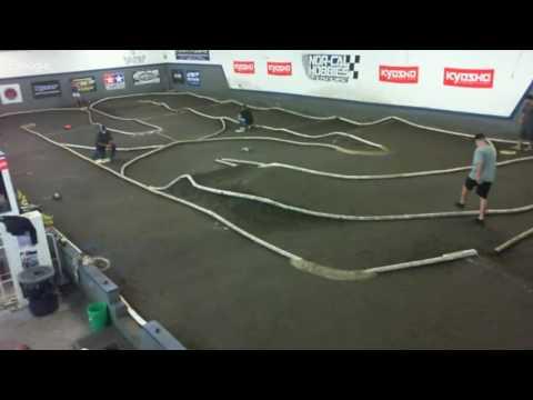 Live RC Car Racing at Nor-Cal Hobbies Indoor track